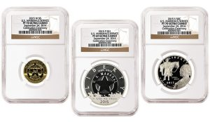 2015 US Marshals Service Coins Graded by NGC