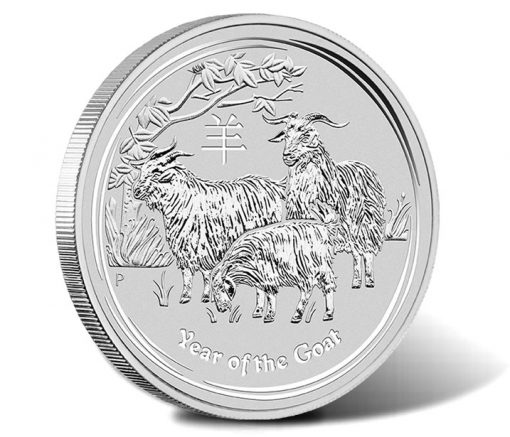 2015 Year of the Goat Silver Bullion Coin - Typeset Collection