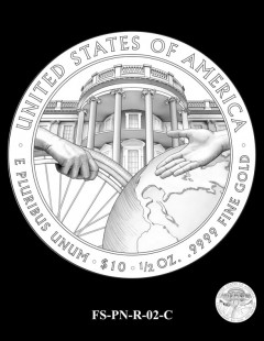 2016 First Spouse Gold Coin Design Candidate FS-PN-R-02-C