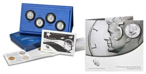50th Anniversary Kennedy Half-Dollar Silver Coin Collection and Uncirculated Coin Set