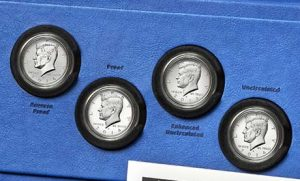 Coins 50th Anniversary Kennedy 2014 Half-Dollar Silver Coin Collection