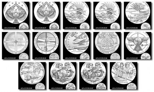 Design Candidates for American Fighter Aces Congressional Gold Medal