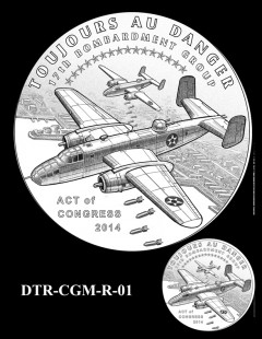 Doolittle Tokyo Raiders Congressional Gold Medal Design Candidate DTR-CGM-R-01