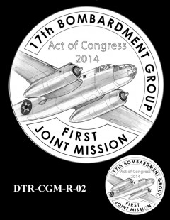 Doolittle Tokyo Raiders Congressional Gold Medal Design Candidate DTR-CGM-R-02