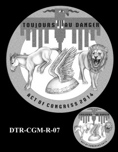 Doolittle Tokyo Raiders Congressional Gold Medal Design Candidate DTR-CGM-R-07