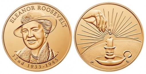 Eleanor Roosevelt Bronze Medal