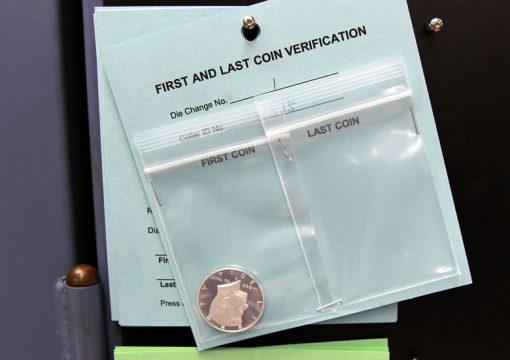 First Coin from Kennedy Silver Half-Dollar Die Usage