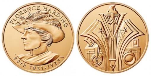 Florence Harding Bronze Medal