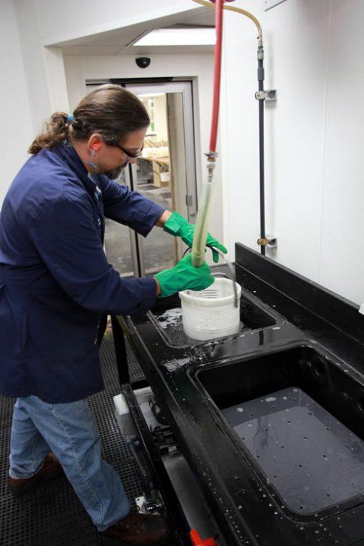 Ruvo washing silver planchets