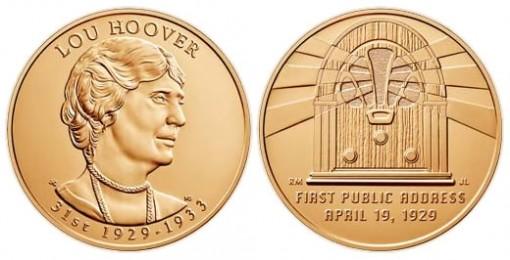 Lou Hoover Bronze Medal