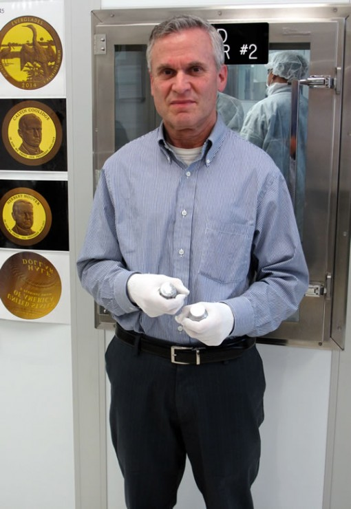 San Francisco mint employee Michael Levin