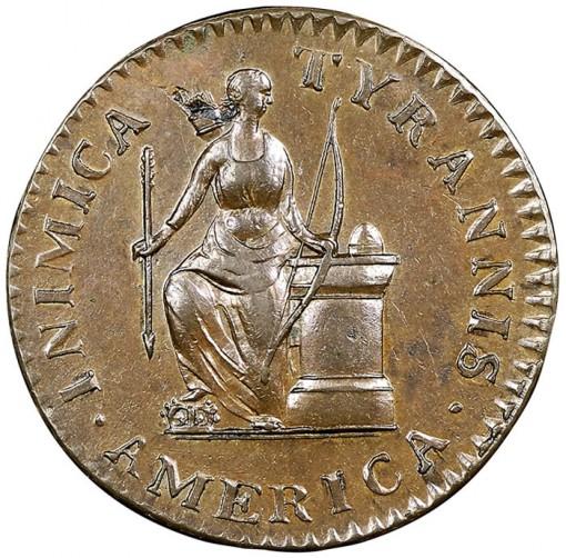 1785 Cent Inimica Tyrannis America/Confederatio