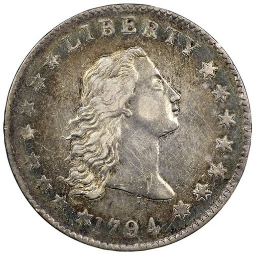 1794 silver dollar NGC AU50