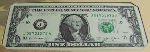 2013 $1 Federal Reserve Note - Front