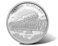 Grand Trunk Pacific Railway Centennial Coins in Gold and Silver