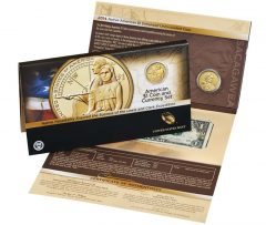 2014 American $1 Coin and Currency Set for $13.95
