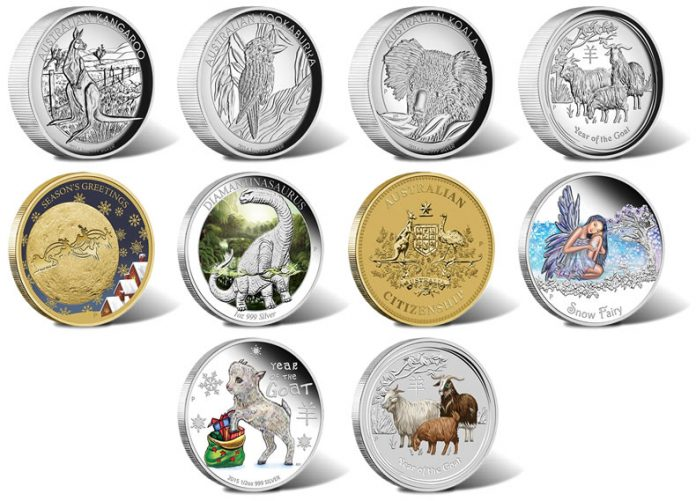 2014 Australian Gold and Silver Coins for November2014 Australian Gold and Silver Coins for November
