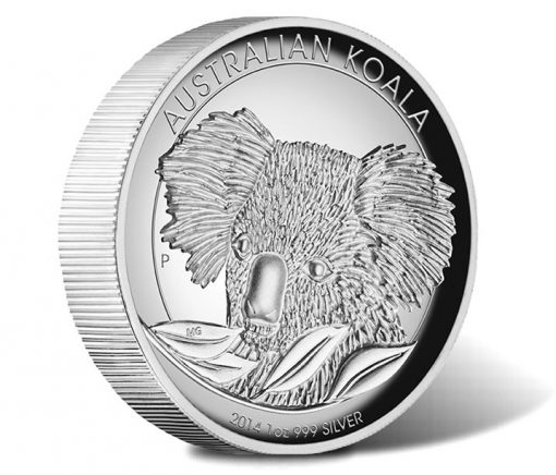 2014 Australian Koala High Relief Silver Proof