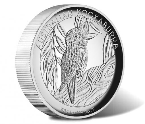 2014 Australian Kookaburra High Relief Silver Proof