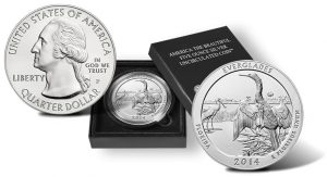 2014 Everglades 5 Oz Silver Uncirculated Coin