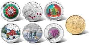 2014 Royal Canadian Mint Holiday-Themed Coins