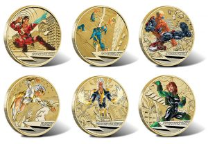 Complete Set of 2014 Young Collectors Super Powers Coins