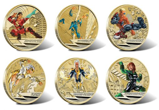 2014 Young Collectors Super Powers Series $1 Coins