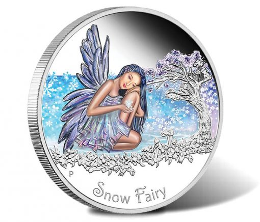 2015 Snow Fairy Silver Proof Coin
