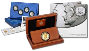 50th Anniversary Kennedy 2014 Half-Dollar Products
