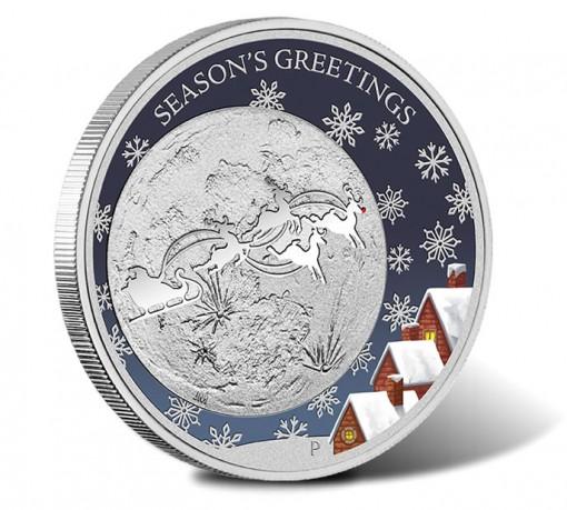 Australian 2014 50c Christmas Silver Proof Coin