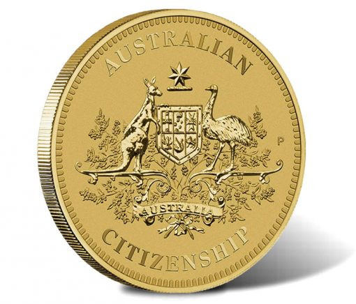 Australian Citizenship 2015 $1 Coin
