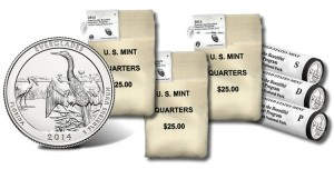 US Mint Sales: Everglades Quarters and 5 Oz Coin Debut