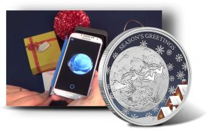 2014 Christmas Coin Includes 'Augmented Reality' for Smartphones