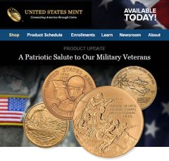 US Medals Celebrate Military Veterans
