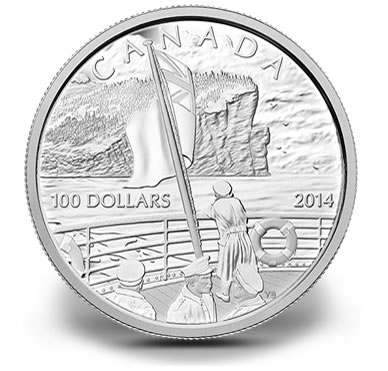 2014 $100 100th Anniversary of the Declaration of the First World War 10 Oz Silver Coin