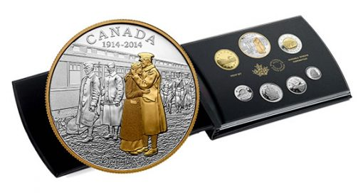 2014 100th Anniversary of the Declaration of the First World War Silver Proof Set