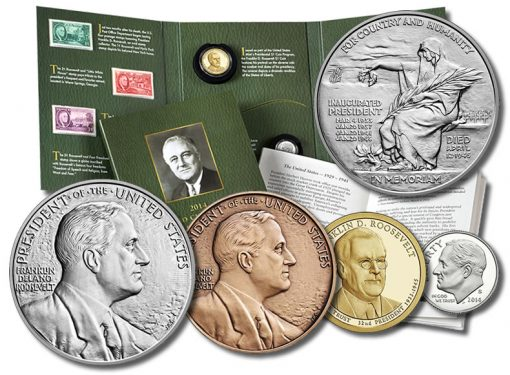2014 Franklin D. Roosevelt Coin and Chronicles Set and Products