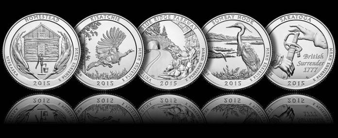 2015 America the Beautiful Quarters