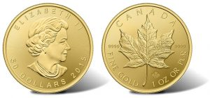 Security Enhancement for 2015 Gold Maple Leaf Bullion Coins
