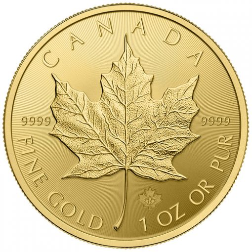 2015 Gold Maple Leaf Bullion Coin - Reverse