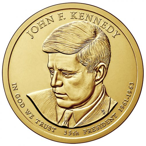 2015 Kennedy Presidential $1 Coin