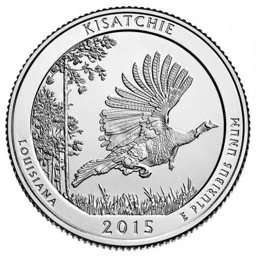 2015 Kisatchie National Forest Quarter for Louisiana