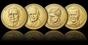 2015 Presidential $1 Coins - Release Dates and Images
