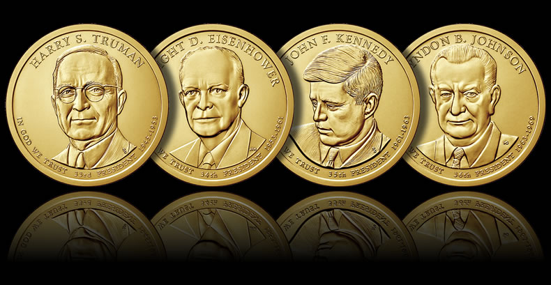 2015 Presidential 1 Coins Release Dates And Images