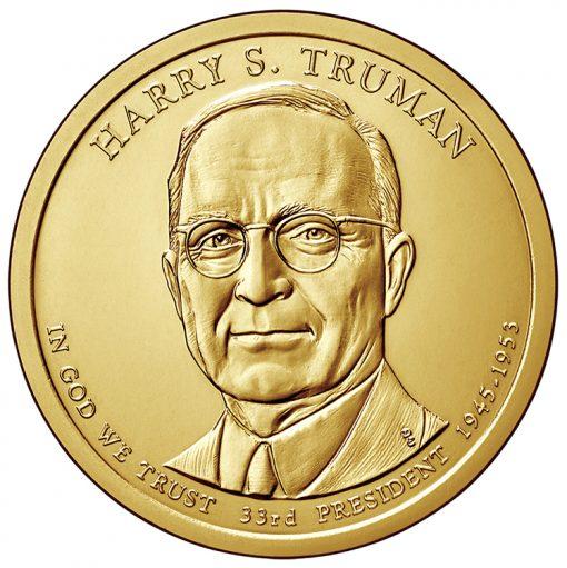 2015 Truman Presidential $1 Coin