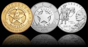 2015 U.S. Marshals Service 225th Anniversary Commemorative Coin