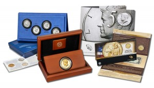 50th Anniversary Kennedy 2014 Half-Dollar Products and 2014 American $1 Coin and Currency Set