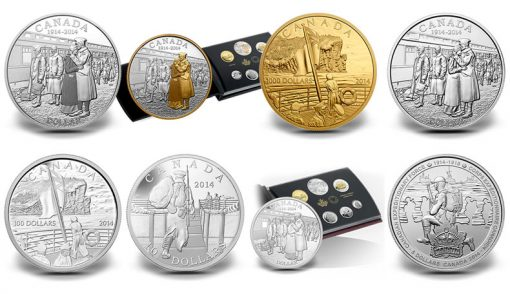 Canada and the First World War Commemorative Coins