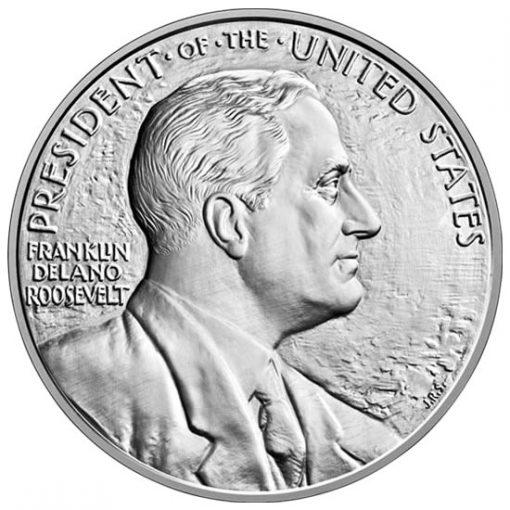 Franklin D. Roosevelt Silver Medal