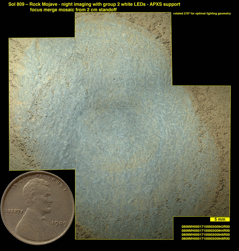 1909 Lincoln Cent on Mars in NASA Astronomy Pic of the Day ...